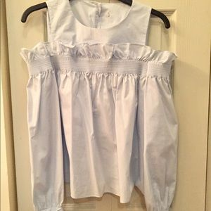 ZARA baby blue shirt